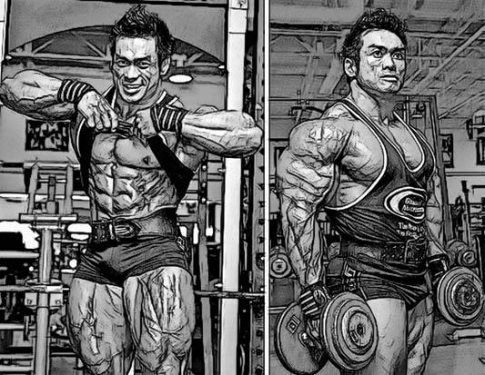 Красивая форма мышц или набор мышечной массы