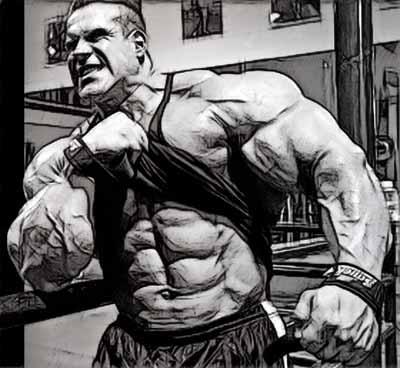 Рельеф мышц и диета в бодибилдинге