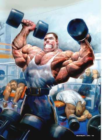 Как накачать мышцы быстро?