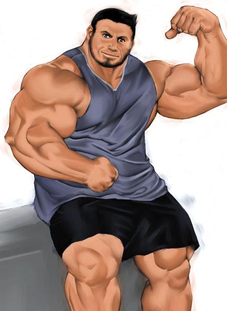 как накачать гудные мышцы