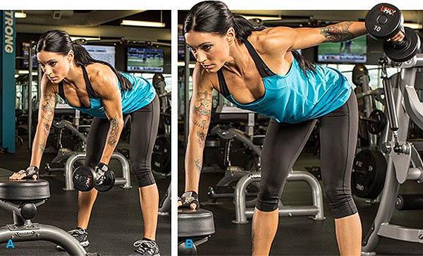 упражнения на плечи от Дениса Борисова