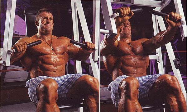 тренажер для тренировки грудных мышц