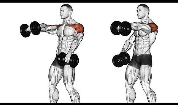 тренировка плеч