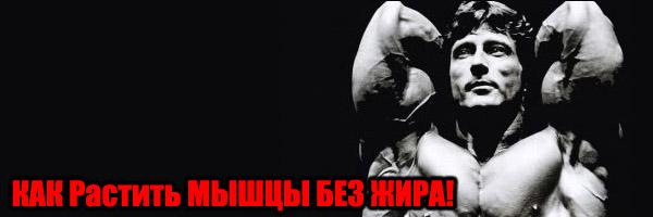 Рост мышц без жира. Как сделать?